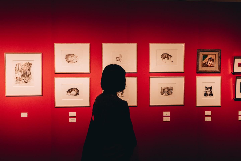金井美恵子・金井久美子「トークと絵画と映像による本の世界」展